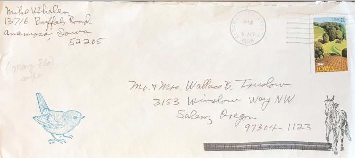 Crew Letter Whalen #2 Image 1