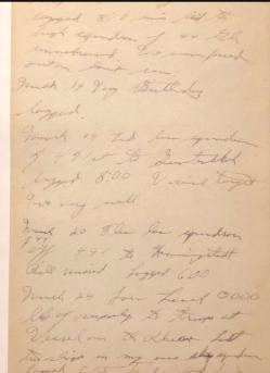 Burns Documents (Diary) #3
