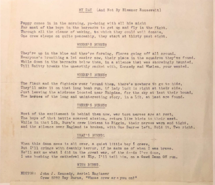 Burns Documents (Kennedy Song) #6