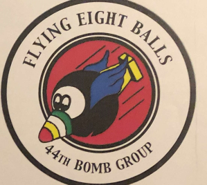 Burns Records (44th Bomb Group Logo) #9