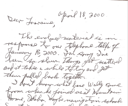 Crew Letters 3 Part 2