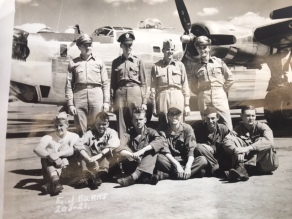 Taken by the Public Relations Office of the 44th Bomb Group at the base near Shipdham Norfolk County England at or about the time we started flying combat missions in the late summer of 1944
